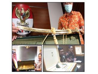 KPK beber hadiah mewah Raja Salman