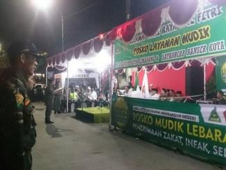 Posko Pengamanan Mudik GP Ansor
