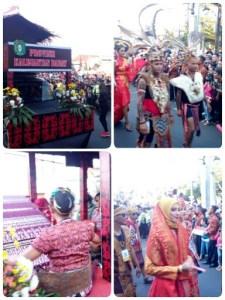 Kalimantan Barat di karnaval kemerdekaan pesona parahyangan