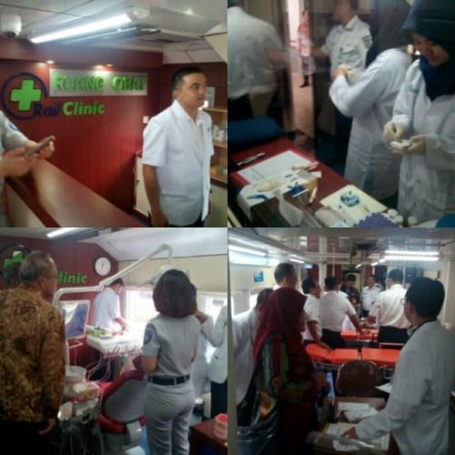 Peluncuran Rail Clinic ke-4