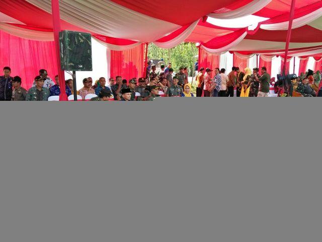 Acara penutupan TMMD ke-100 di Bojonegoro dihadiri Pangdam Brawijaya