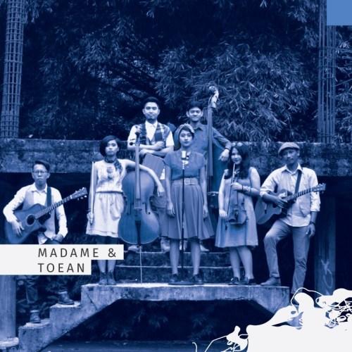 Madame & Toean akan meramaikan gelaran Seni Bandung #1 di Dalem Kaum