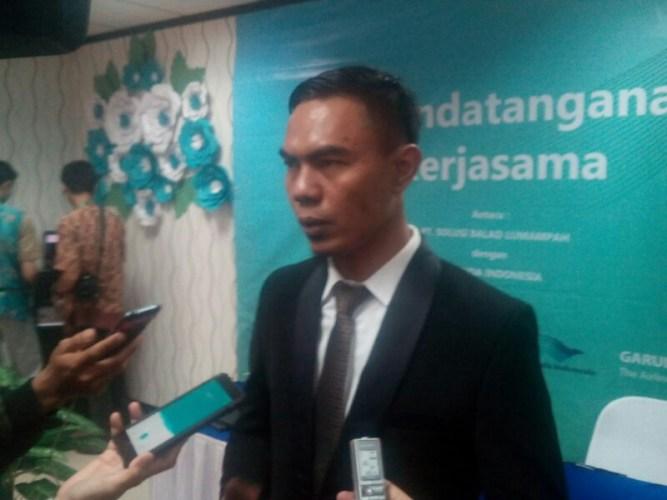 Direktur Utama PT SBL H Aom Juang Wibowo