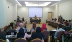 Workshop E-Smart IKM yang dibuka oleh Plt Kepala Disperindag Jabar, Hening Widiatmoko.
