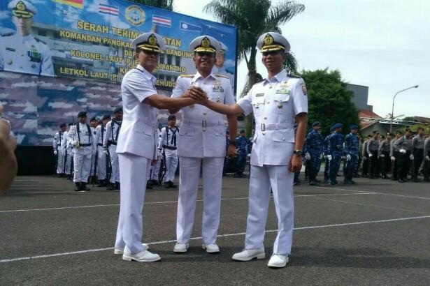 Sertijab Danlanal Bandung, Rabu 27 Desember 2017