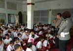 Anggota Polres Banjar Kunjungi Internal Sekolah