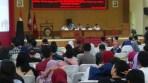 Seminar nasional hukum bertemakan Mewujudkan Pemilu Jujur Dan Adil Melalui Penegakan Hukum Dan Etika yang di gelar BEM Fakulltas Hukum Universitas Galuh, Kabupaten Ciamis.