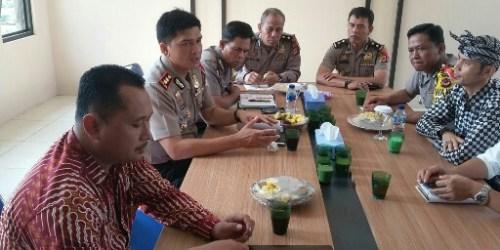 KPU Dan Panwas Serta Polres Banjar Bahas Visi Misi Keamanan Pilkada 2018