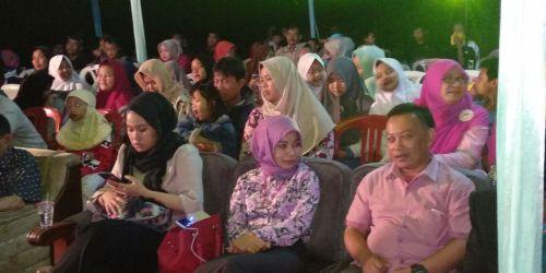 KPU Jabar saat menggelar sosialisasi Pilgub Jabar di Kecamatan Pager Ageung Kabupaten Tasikmalaya