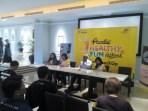 Konferensi pers Prodia Healthy Fun Festival di Ciwalk, Kota Bandung, (28/4/2018).