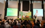Kepala Staf Kepresidenan Jenderal TNI (Purn) Moeldoko di kegiatan Inspirasi Ramadan (IRAMA) di Masjid Salman ITB yang dihadiri civitas akademika ITB dan warga.