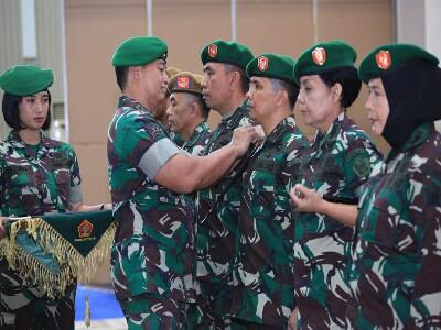 Komandan Pussenarhanud, Pusdikintel Dan Pudikkowad Diserahterimakan