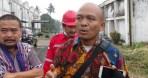 Kuasa hukum PT Kahatex Andi Nababan (kanan) didampingi Dr Dadang dari Unpad (kiri).