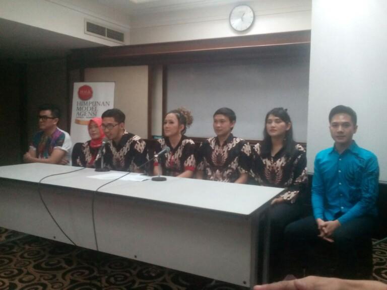 Konferensi Pers Peluncuran Himpunan Model Agensi Jawa Barat (HMA Jabar).