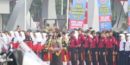 Apel Besar PKS Dan Polsanak Memperingati Hari Lalulintas Bhayangkara 2018