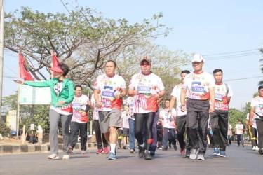 Meriah, Lomba Lari Tiga Pilar 5K Lodaya Run 2018