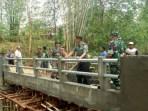 Usai Kunjungi Bangkalan, Danrem Bhaskara Jaya Tinjau Lokasi TMMD Di Pamekasan