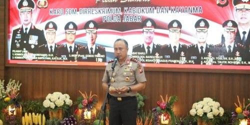 Kapolda Jabar Irjen Pol Drs. Agung Budi Maryoto, M.Si.