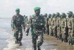 Danrindam III/Siliwangi Tutup Latihan Yudha Wastu Pramuka Dan Penyematan Baret Infanteri