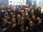 Seru, Ridwan Kamil Ikut Nonton Gala Premier Film Preman Pensiun Di Kota Bandung
