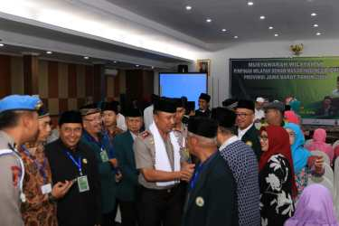 Ini Paparan Kapolda Jabar Di Muswil Pimpinan Wilayah DMI Provinsi Jabar 2019