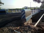 Pembangunan Jembatan Ds Besah Kec Kasiman
