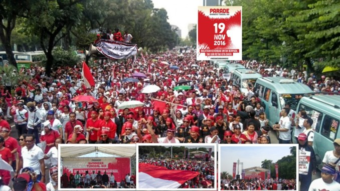 Ribuan Orang Hadiri Parade Bhinneka Tunggal Ika
