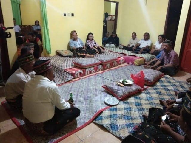 acara adat teing hang bupati manggarai timur agas andreas