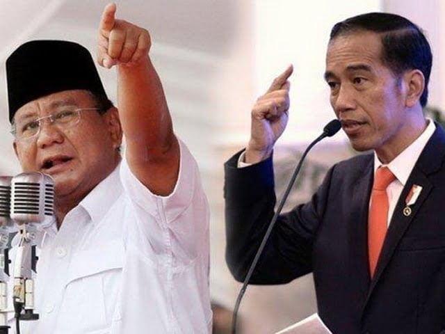 Capres Pilpres 2019 Jokowi & Prabowo