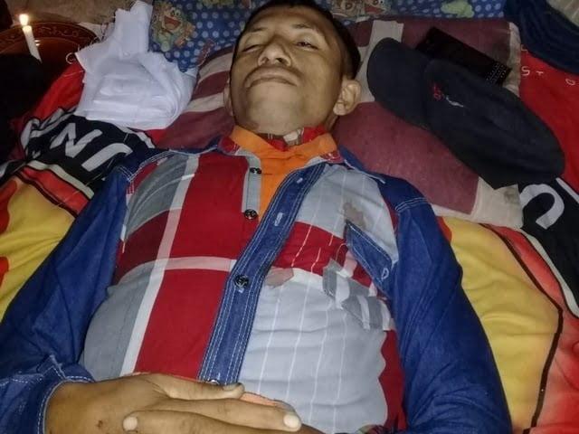 Bertolomeus Yunus korban lakalantas jalur Ruteng-Borong