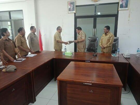 perjanjian kerja OPD Manggarai Timur