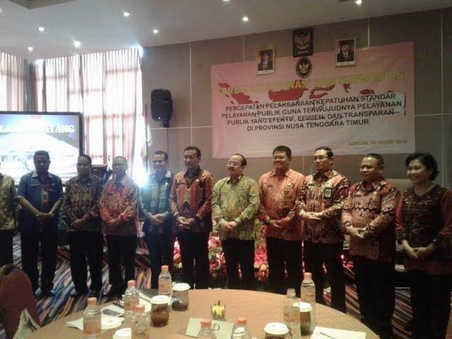 forum koordinasi dan konsultasi Pemprov NTT