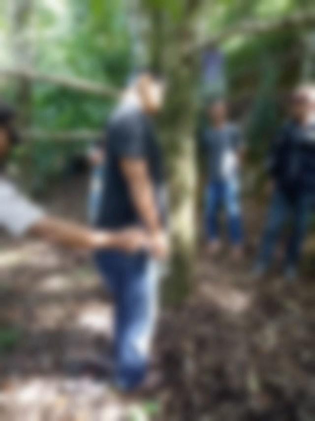 seorang pria ditemukan meninggal gantung diri di Cibal