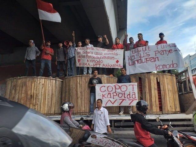 AMA-NTT Makassar desak Kapolri pecat Kapolda NTT