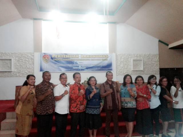 Pertemuan Bakohuman Pemprov NTT bersama KPU NTT