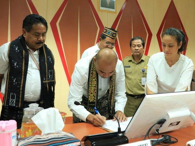 Gubernur NTT tuntaskan masalah perbatasan Ngada dan Matim