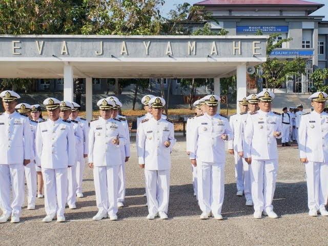 Upacara peringatan Hari Lahir Pancasila Lantamal VII Kupang