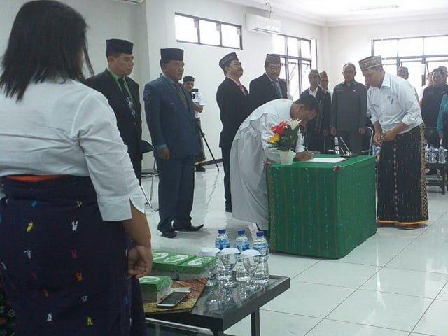 Bupati Agas rotasi pejabat di lingkup Pemkab Matim