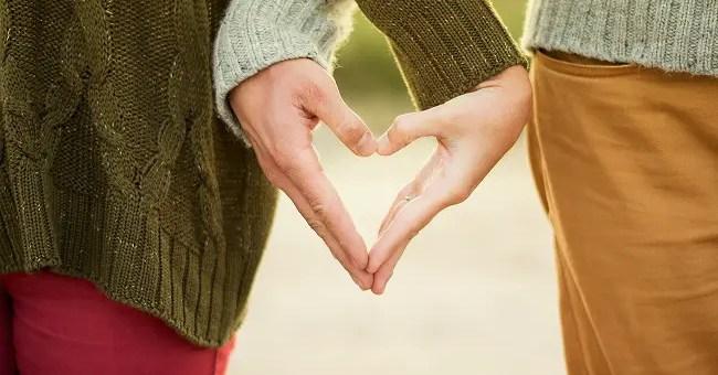 corazon pareja