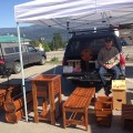 Bill Doebert at Sorrento Village Farmers' Market