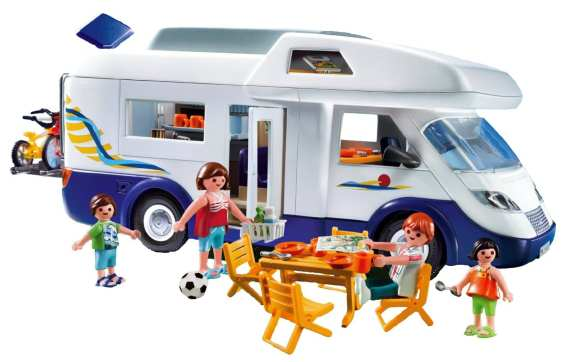 playmobil campervan