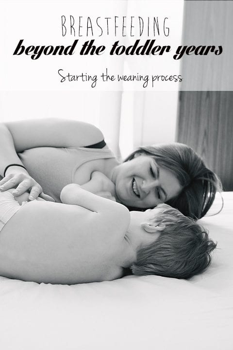 extended breastfeeding weaning