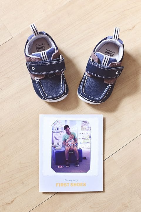 clarks first shoes photo
