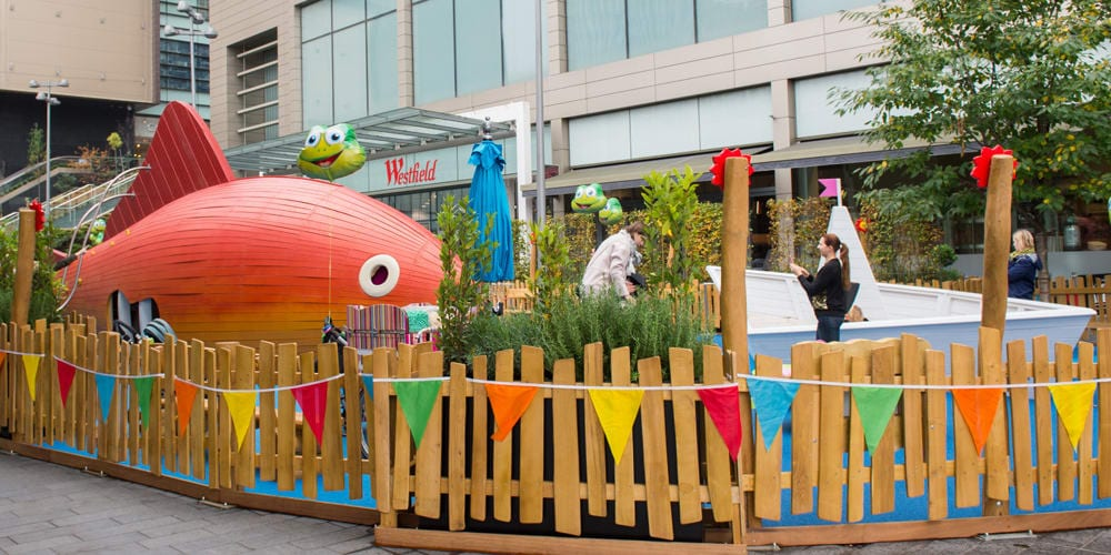 Westfield stratford soft play area