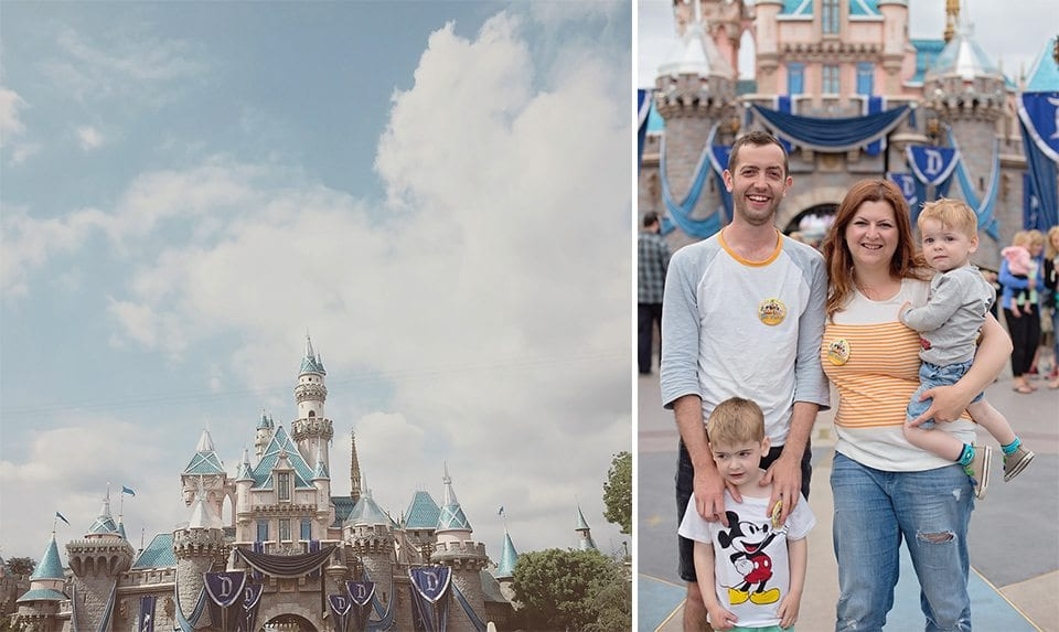 disneyland with young children