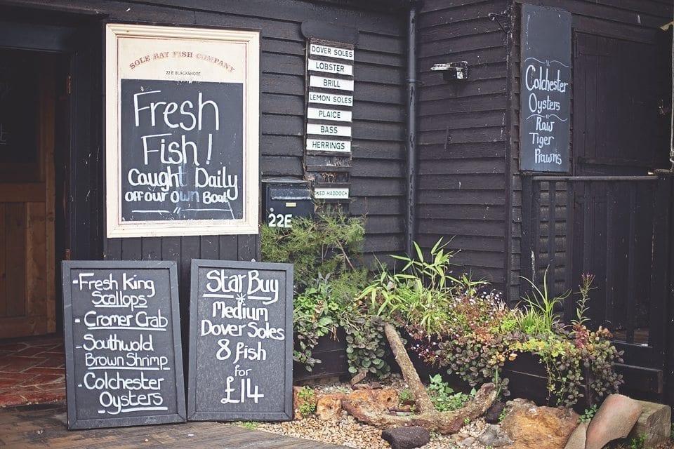 Sole Bay Fish Company Southwold