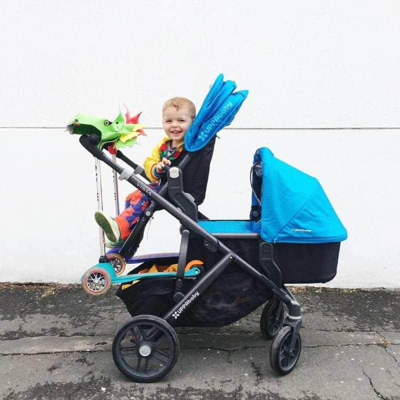 uppababy vista newborn and toddler