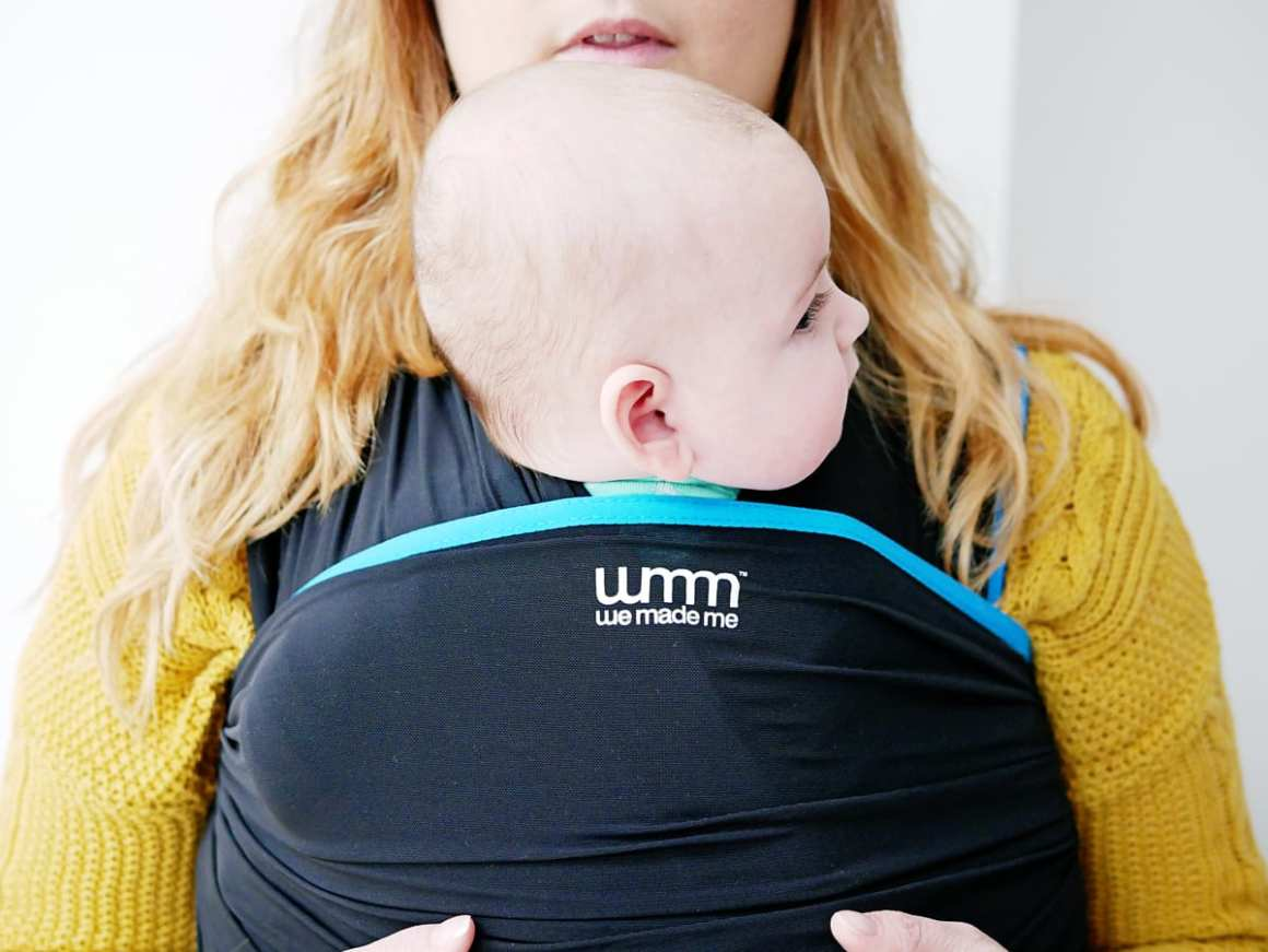 We Made Me wuti baby wrap sling review