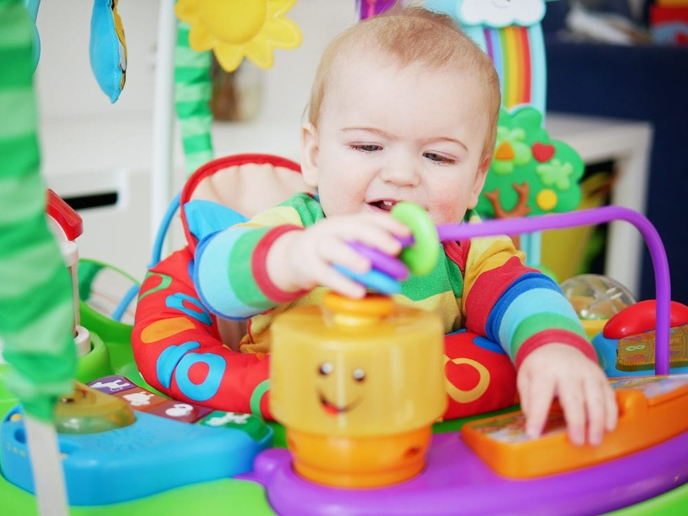 laugh and learn puppy's activity jumperoo