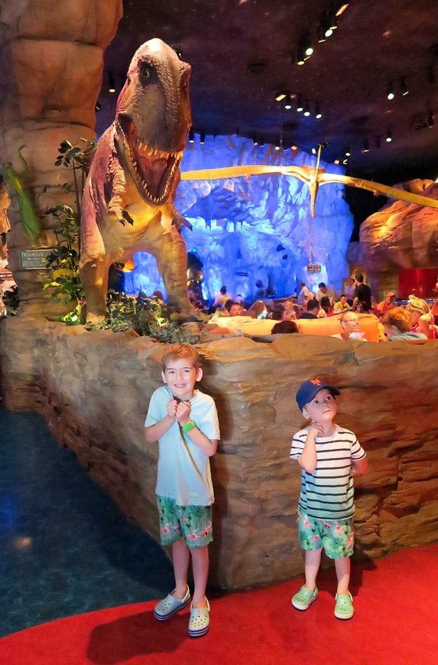 T Rex Disney Springs